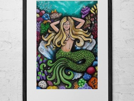 Mermaid's Day Off :: Limited Edition Prints-0