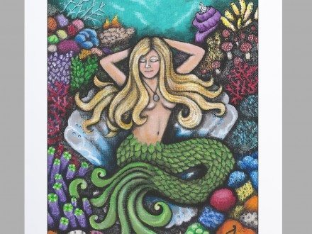 Mermaid's Day Off :: Limited Edition Prints-1