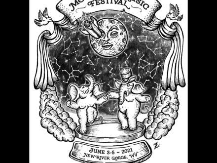 Illustration :: Mountain Music Festival 2021 Art-3