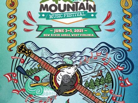 Illustration :: Mountain Music Festival 2021 Art-0